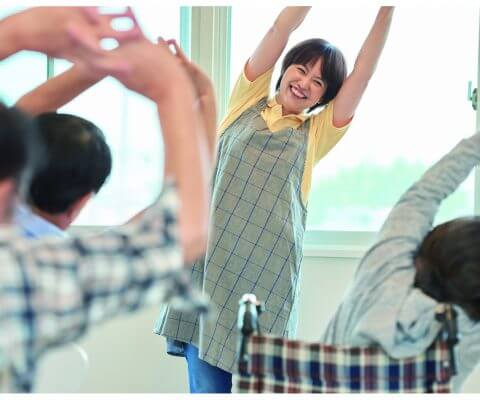 介護予防運動指導員養成講座